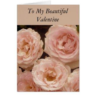 Precious Roses Valentine Card