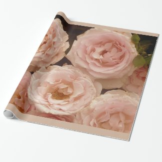 Precious Roses Wrapping Paper
