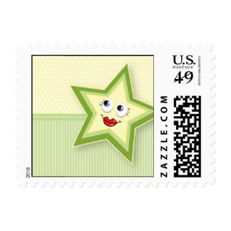 Precious Star Mommy Postage Baby Green