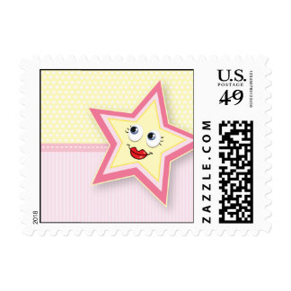 Precious Star Mommy Postage Baby Pink