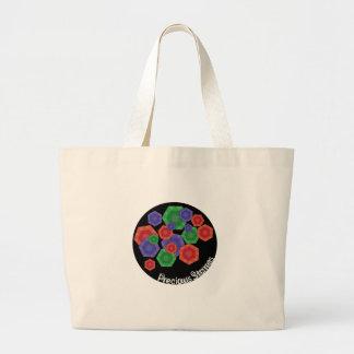 Precious Stones Canvas Bags