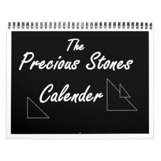 Precious Stones Calender Calendar