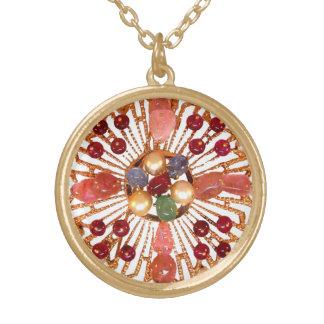 Precious Stones Vintage Art Costume Jewelry Charm