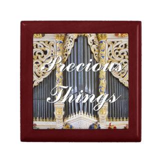 Precious things organ gift box