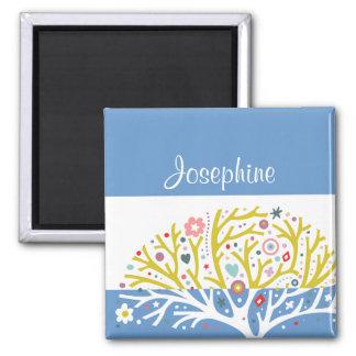 Precious Tree Custom Name Magnet