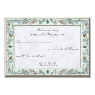 Precious Wedding RSVP Card