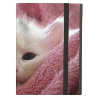Precious White Kitten iPad Air Covers