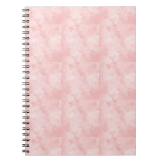 PRECIOUSLY PERFECT PINK CUBES LAYERED TEXTURE BACK NOTE BOOKS