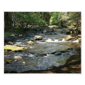 Precipitación 10 x de los ríos impresión fotográfi