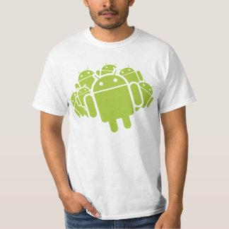 Precipitación androide polera