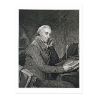 Precipitación de Benjamin, grabada por Richard W. Tarjeta Postal