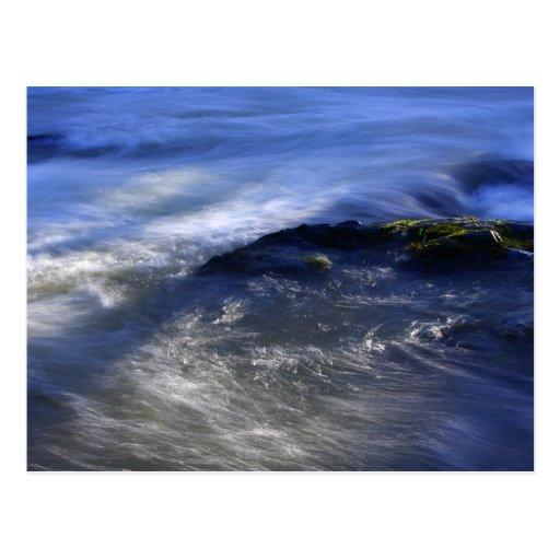 Precipitación de la postal del agua