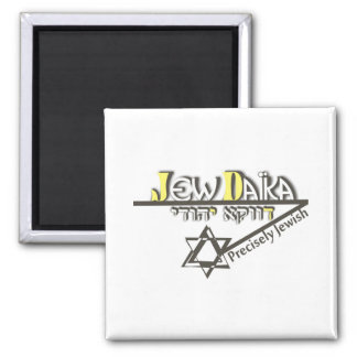 Precisely Jew 2 Inch Square Magnet