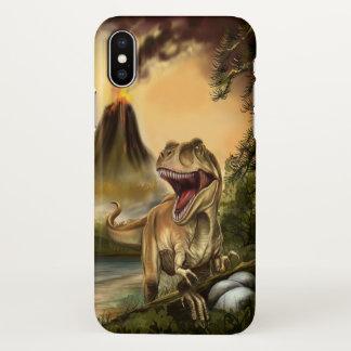 Predator Dinosaur Zazzle iPhone X Case