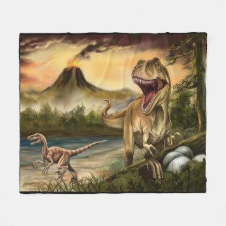 Predator Dinosaurs Fleece Blanket
