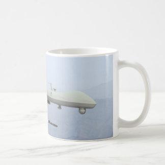 PREDATOR DRONE FIRING CLASSIC WHITE COFFEE MUG