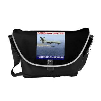 Predator Drone  Rickshaw Messenger Bag