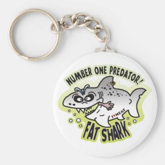 Predator Fat Shark Key Chains