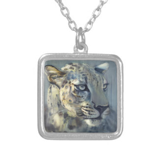 Predator II Silver Plated Necklace