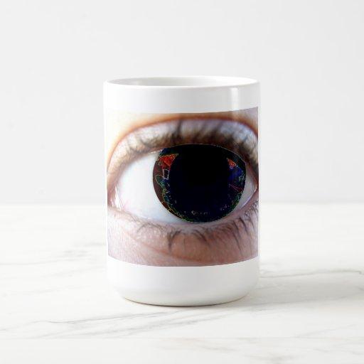Predator Look Classic White Coffee Mug