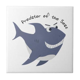 Predator Of The Seas Ceramic Tiles