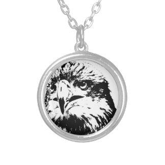 predator round pendant necklace