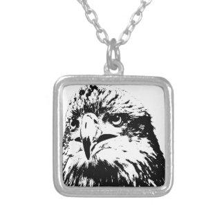 predator square pendant necklace