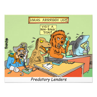 PREDATORY LENDERS / BANKING / BAKERS / FINANCIAL PERSONALIZED INVITATION
