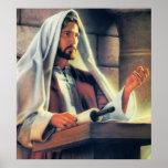Predicación de Jesús Poster