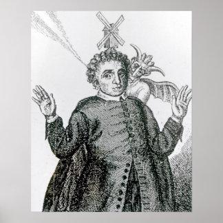 Predicador ardiente del ejército de Hugh Peter Posters