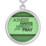 Predicador ateo colgantes personalizados