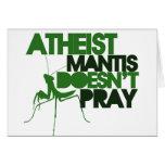 Predicador ateo tarjeta