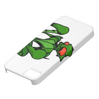 Predicador cómico del dibujo animado iPhone 5 carcasa