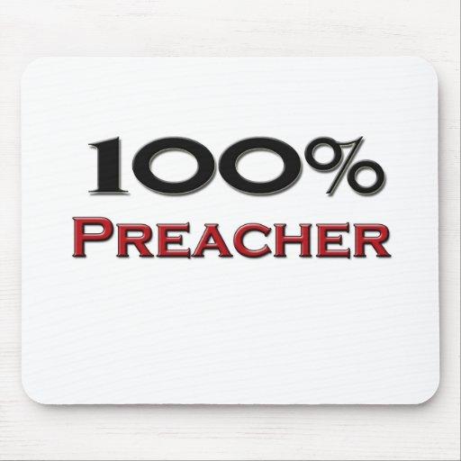Predicador del 100 por ciento alfombrilla de ratones