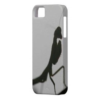 Predicador en negro iPhone 5 carcasas