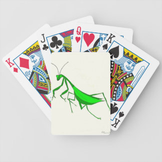 Predicador que caza barajas de cartas
