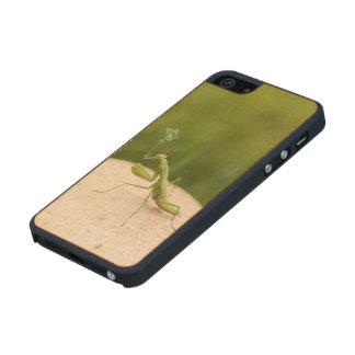 Predicador que fuma funda de arce carved® para iPhone 5