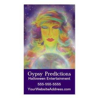 Predicción gitana tarjetas de visita