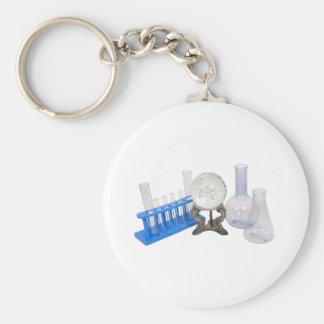 PredictingCures090409 Basic Round Button Keychain