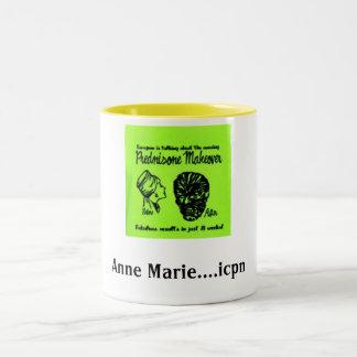 predisone Oh the side effects Two-Tone Coffee Mug