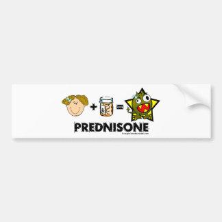 Prednisone Monster Bumper Sticker