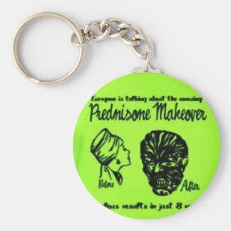 Prednisone Oh the Side effects Beware Keychain