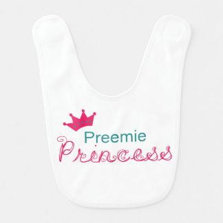 Preemie Princess Baby Bib