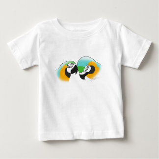 Preening Blue & Gold Macaws Baby T-Shirt