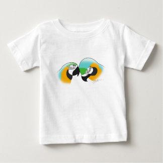 Preening Blue & Gold Macaws Baby T-Shirt