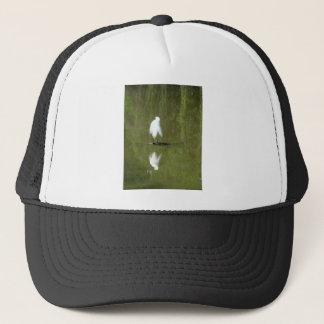 Preening Trucker Hat