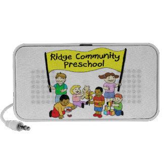 Preescolar de la comunidad de Ridge Mp3 Altavoces