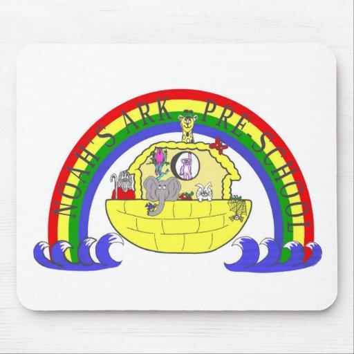 Preescolar Mousepad de la arca de Noah