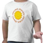 Preescolar Sun graduado Camiseta