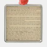 Preface New mercantile marine atlas Metal Ornament